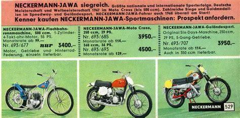Motorrad 125 Ccm Einfahren by Neckermann Jawa Werksmotorrad 250 Ccm Bj 1969 Enduro
