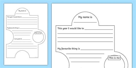 Transition Display Jigsaw Activity Transition Games Match Jigsaw Activity Template