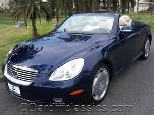 2002 used lexus sc 430 2dr convertible at cardiff classics
