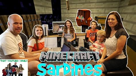 Games To Play In The Backyard Sardines In Minecraft Hide And Seek That Youtub3 Family