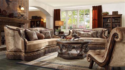 Homey Design Living Room Sets Homey Design Hd 1631 Wood Trim Sofa Set
