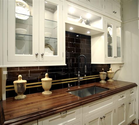 Best Color For Kitchen With Oak Cabinets by Espresso Color Kitchen Backsplash For Small Kitchen With