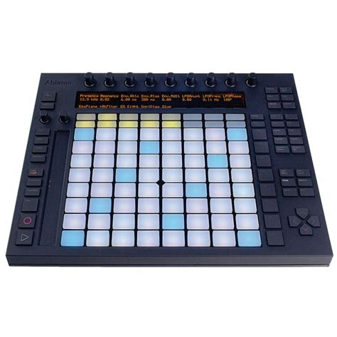 ableton push swing controlador akai ableton push loja global djs