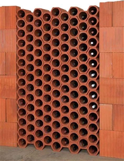 Voltage Floor Plans terracotta wine racks