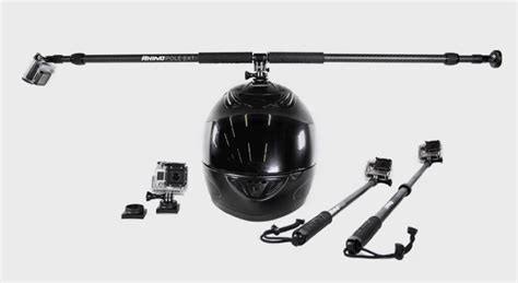 Gopro 5 Second rhino s 360 186 helmet mount lets you capture a 2nd person point of view without the 2nd person
