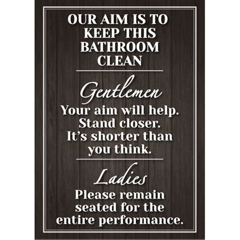 funny bathroom posters wall sign bathroom plaque shabby chic funny poster gift