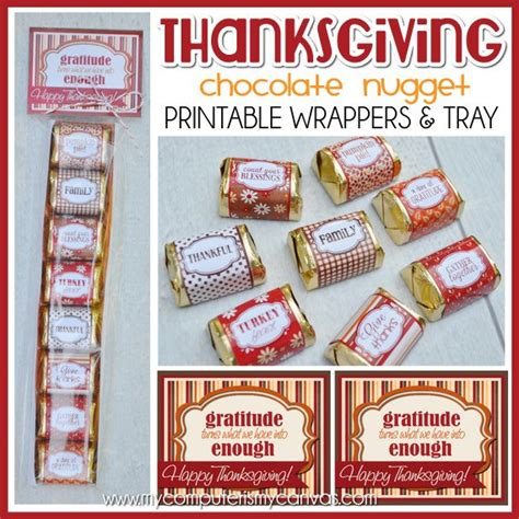 turkey lollipop printable thanksgiving printable mini candy wrappers thanksgiving