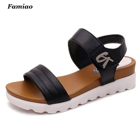 comfortable and stylish sandals sandalias mujer 2016 summer gladiator sandals women aged