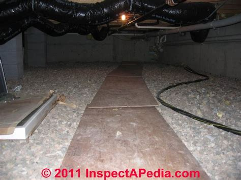 Crawl Space Moisture Barrier choices, placement:Where