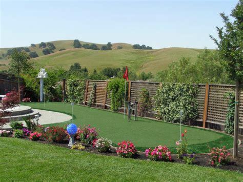 Artificial Grass La Mesa, California. Putting Greens