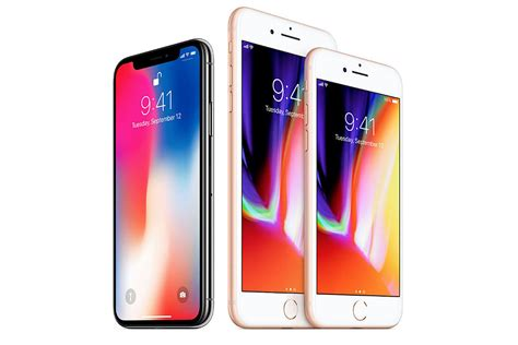 apple introduces the new iphone 8 and iphone x