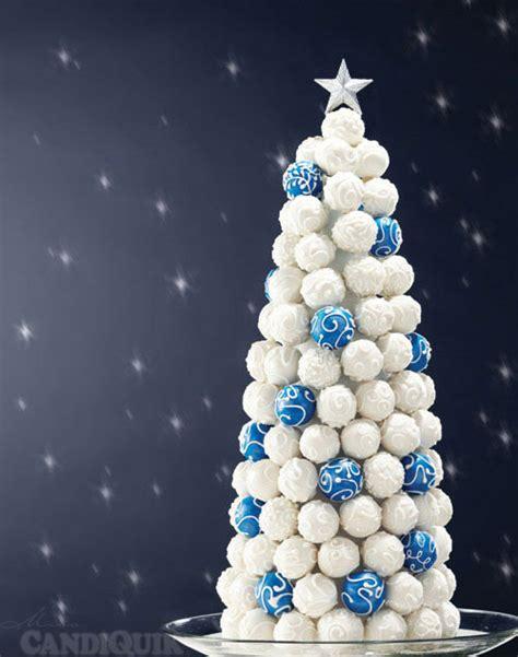 cake bite christmas tree
