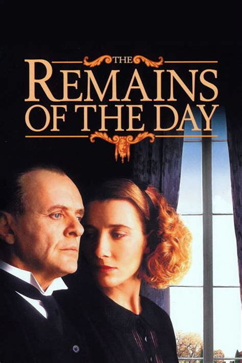the remains of the day movie review 1993 roger ebert