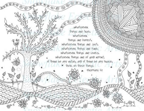 adult colouring page bible verse philippians 4 instant 957 best images about bible coloring pages on pinterest