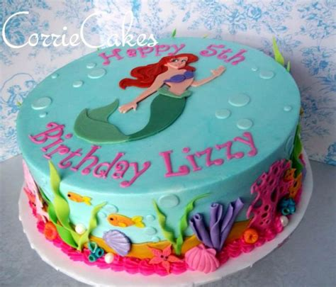 Ariel Birthday Cake Decorations by 17 Best Images About Ariel Cake On