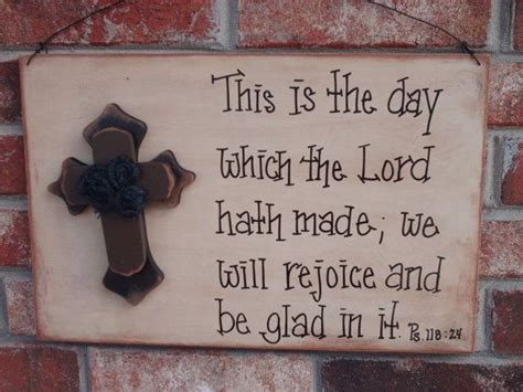 rustic bible verse sign home decor