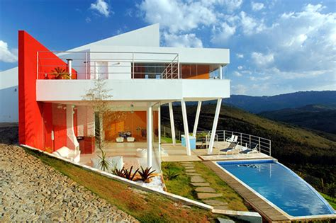 brazilian home design trends contemporary mountain home in brazil by architect ulisses