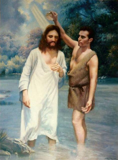 imagenes de jesus bautismo el bautismo de cristo luis molina artelista com en