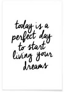 A Perfect Day Wall Mural today is a perfect day en affiche premium juniqe