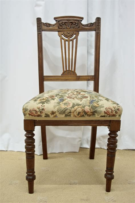 six 19th century walnut dining chairs for sale antiques
