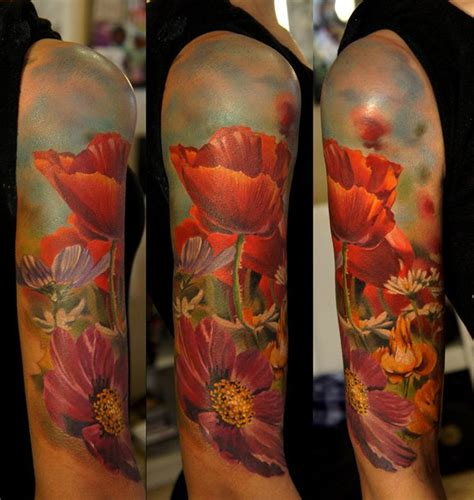 Garden Of Sleeve 30 Catchy Poppy Designs Amazing Ideas