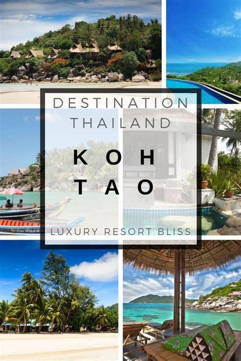 best resort koh tao koh tao luxury resorts
