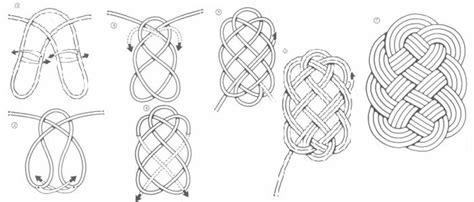 nudos marineros decorativos plantillas para hacer nudos manualidades