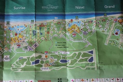 palace resort cancun map map of the resort picture of moon palace golf spa
