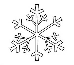 snowflake outline template 17 snowflake stencil template free printable word pdf