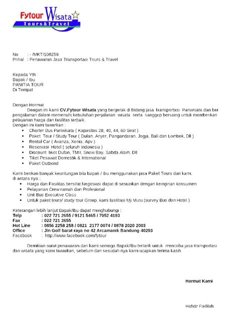 contoh surat penawaran barang jasa serta tips cara