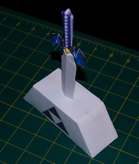 Master Sword Papercraft - master sword 3 oot papercraft by sinkigobopo on deviantart