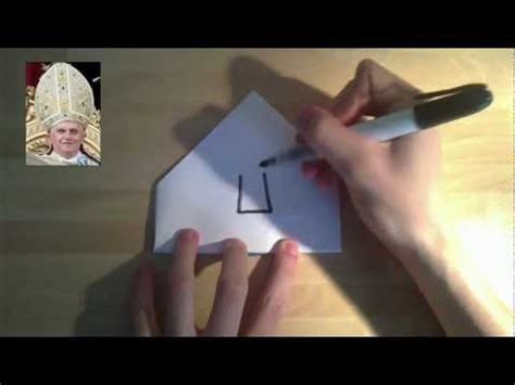 How To Make A Pope Hat Out Of Paper - how to make a pope hat