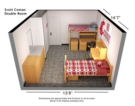 Arizona Floor Plans by Housing Amp Residence Life Washington State University