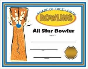 bowling certificate template free bowling award certificates printable and downloadable