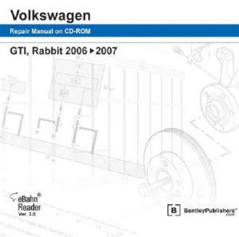 reviews volkswagen rabbit gti a5 repair manual 2006 2009 bentley publishers repair volkswagen gti rabbit 2006 2009 repair manual on dvd rom