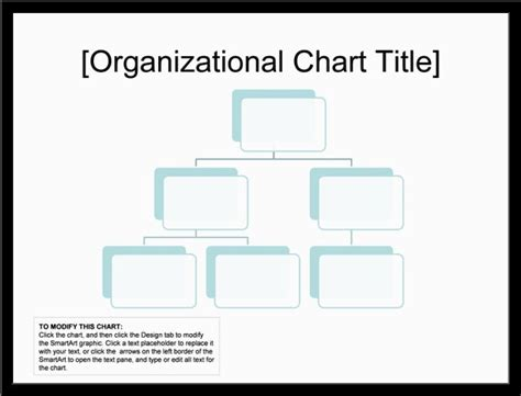organization chart template for word blank organizational chart slesreference letters words