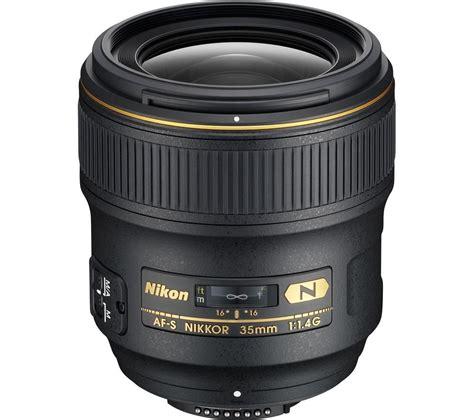 nikon af s nikkor 35 mm f 1 4g wide angle prime lens deals