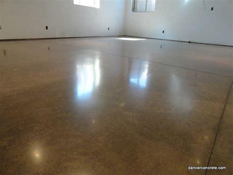 polished concrete floor residential basement fort wayne