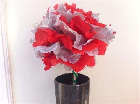 Arts And Crafts Tissue Paper Flowers - tissue paper pom pom flower my kid craft
