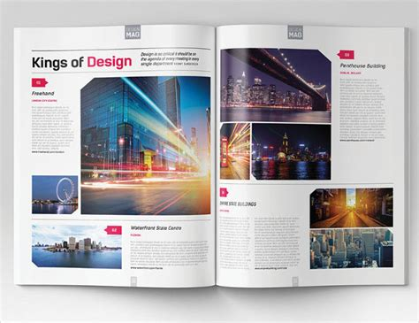 magazine layout design free download indesign brochure template 33 free psd ai vector eps