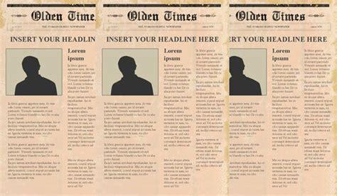 newspaper templates psd