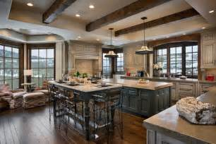 distressed kitchen cabinets spaces traditional with
