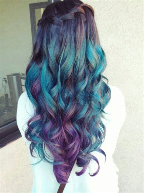 mermaid hair colors color correction mermaid green ombre modern salon of