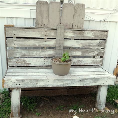 benches made out of pallets bench made out of pallets i m doing it myself pinterest
