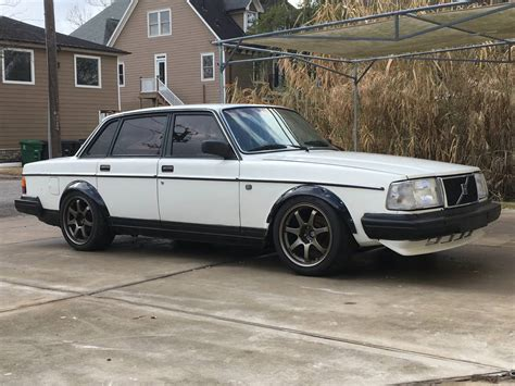 volvo track for sale for sale volvo 240 with a ford v8 engine swap depot