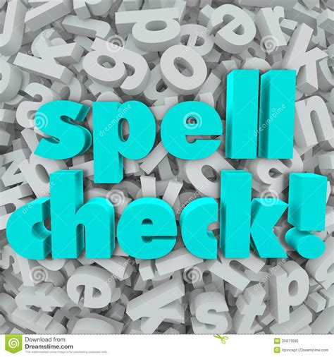 5 Letter Words To Spell spell check letter background correct spelling words stock