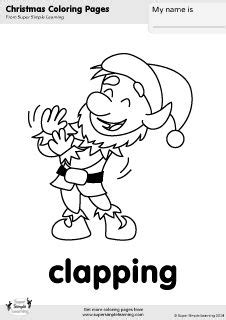 coloring pages of clapping hands 84 best christmas ho ho ho images on pinterest merry