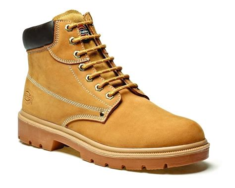 safety work boots for new mens dickies donegal honey leather steel toe cap