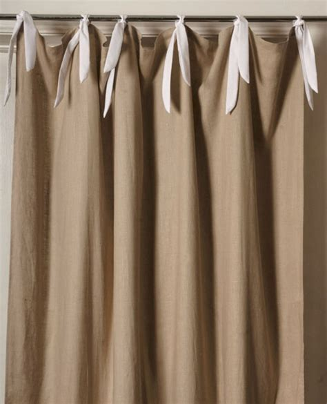 natural linen drapes linen natural curtain panel by maddie boo