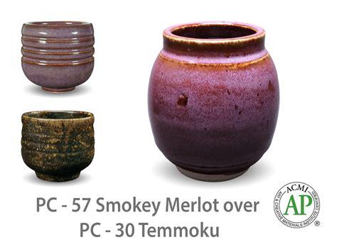 Amaco Glazes Amaco Potter S Choice Layered Glazes Pc 30 Temmoku And Pc